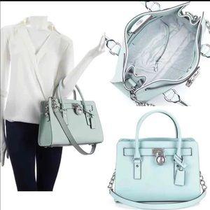 Handbags - Michael Kors mint Aqua celadon Hamilton ad07f7ad3e7